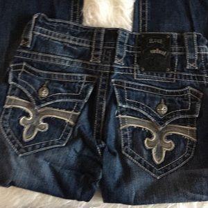 Rock Revival Paul Boot Cut Jeans Size 30 #113